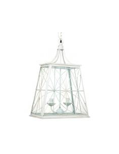Lámpara metálica de techo -...