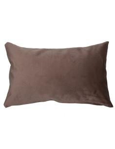 Cojín Velvet marrón -...