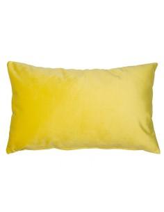 Cojín Velvet amarillo -...