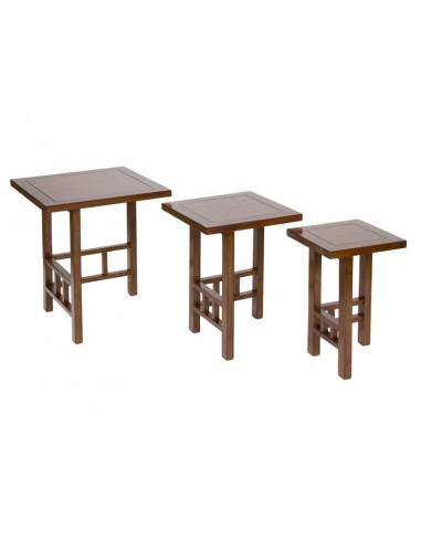 Set 3 mesas nido - Ref.50715