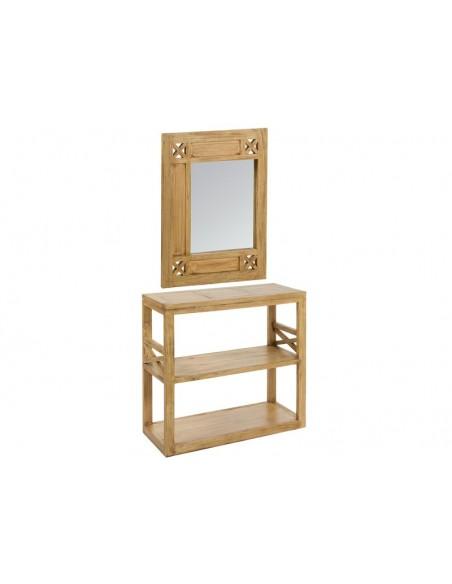 Recibidor con espejo Ios - Ref.51501