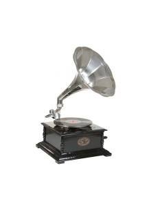 Gramofono cuadrado niquelado - Ref.2457