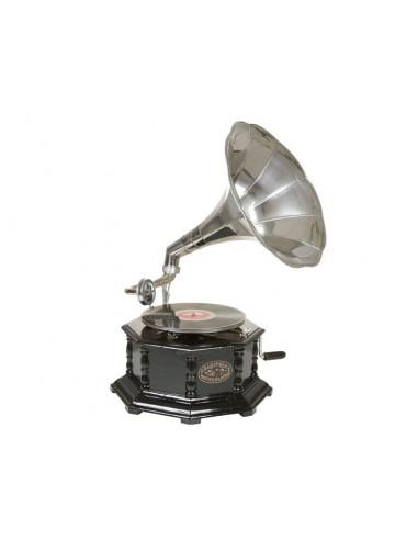Gramófono octogonal...