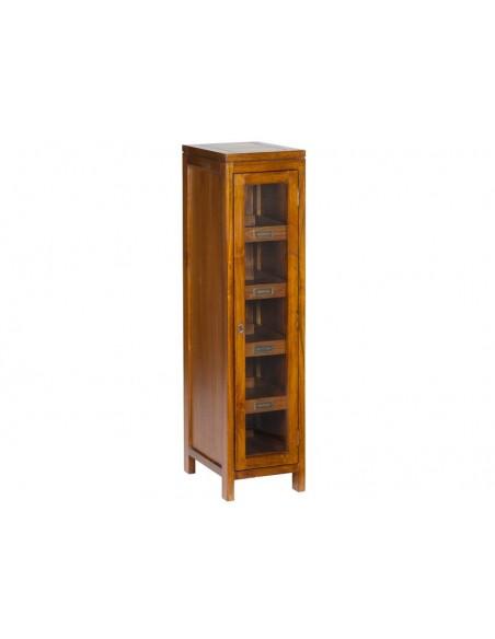 Vitrina con puerta 4 estantes - Ref.9188
