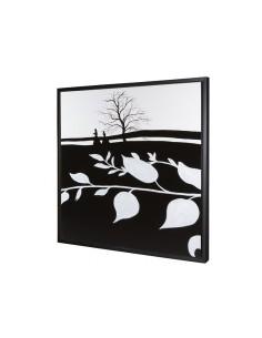 Cuadro óleo hojas - Ref.15258