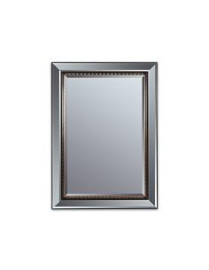 Espejo negro oro antiguo -...