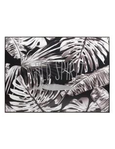 Cuadro hojas byn - Ref.16429