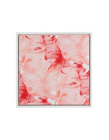 Cuadro hojas rojas - Ref.16452