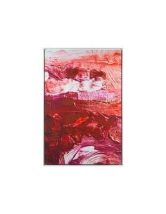Cuadro óleo rojo - Ref.16542