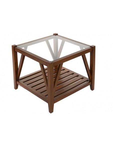Mesa centro con cristal - Ref.51446