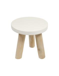 Mesa auxiliar de madera...