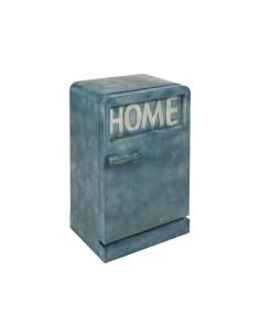 Mueble metal vintage azul -...