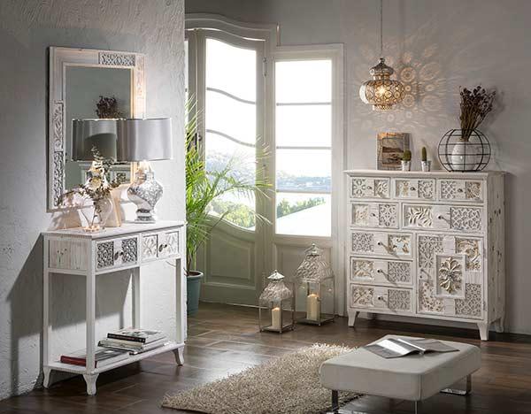 muebles vintage blancos